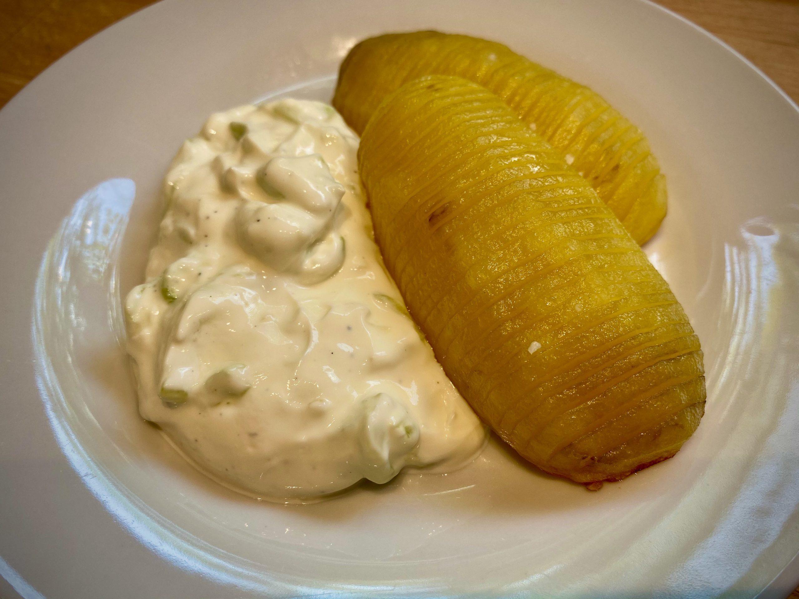 Hasselback Potatoes (Fächerkartoffeln)