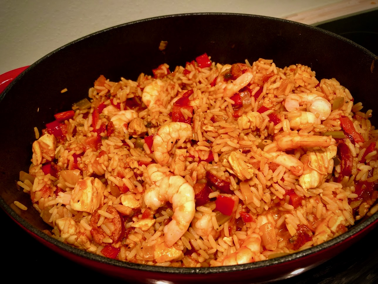 Jambalaya – Cajun-Eintopf mit Reis