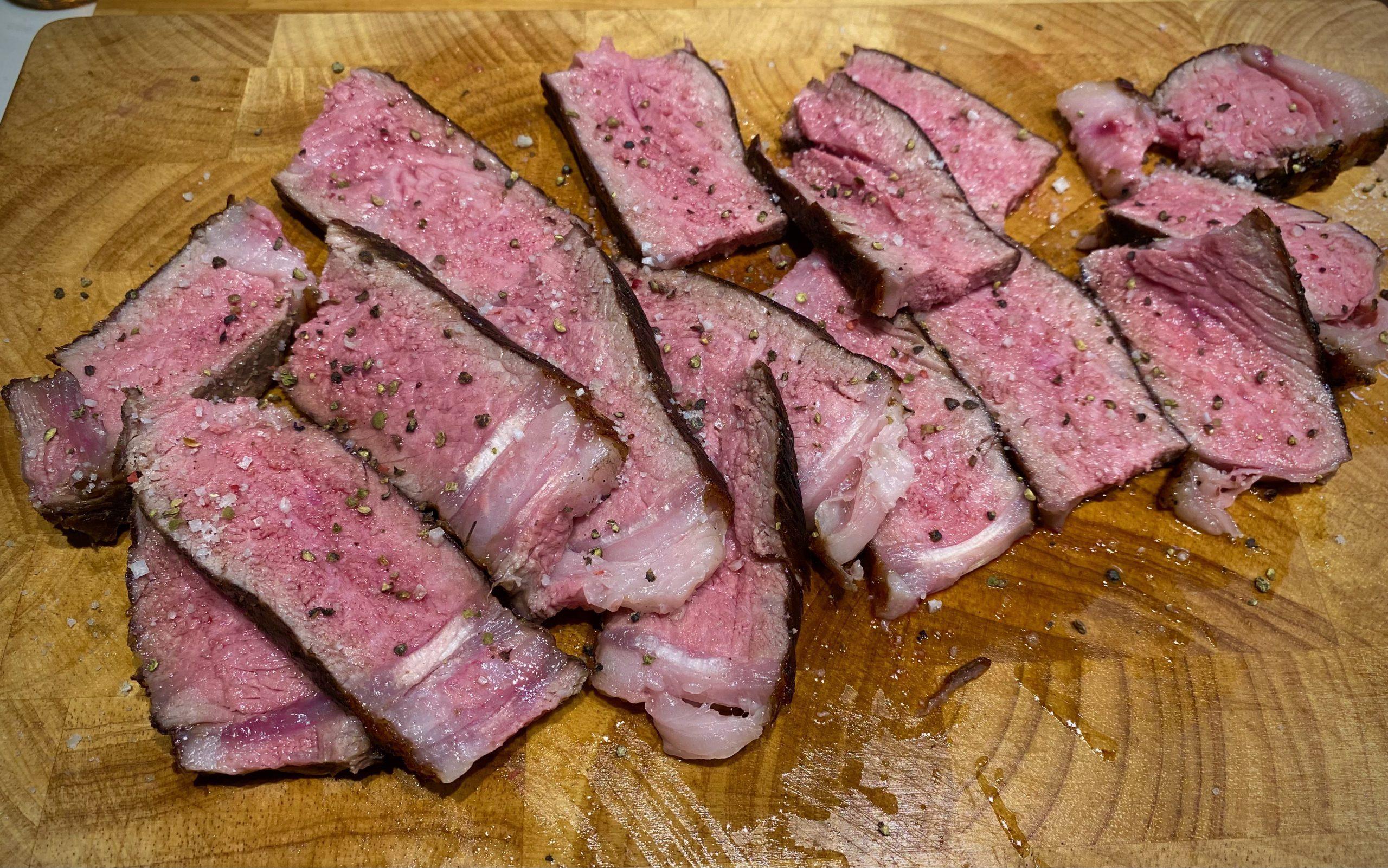 Tomahawk Steak sous-vide – rückwärts gegrillt